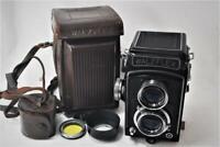 """VINTAGE"" Walzflex 6x6 TLR Medium Format Camera /7.5cm F3.5 w/Case [Repair]"