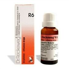 Dr Reckeweg Germany Homeopathic Medicine R-6 Drops 22ml - Cold ,Flu & Bronchitis