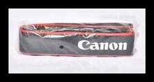 ❤️Canon New Camera Digital Shoulder Neck Strap Original Genuine Red and Black❤️