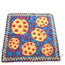 Vivienne Westwood Cotton Square/Scarf/Handkerchief/Bandana Ladybugs Double Faced