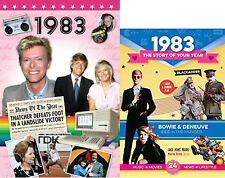 35th BIRTHDAY or ANNIVERSARY GIFT Set - 1983 DVD and Story of Your Life CD Card