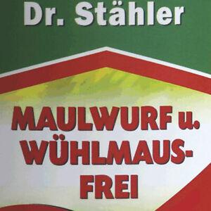 Dr. Stähler Maulwurf und Wühlmaus Frei Abwehrmittel bei Maulwürfe und Wühlmäuse