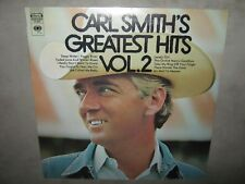 CARL SMITH's Greatest Hits Vol. 2 RARE NM SEALED New Vinyl LP 1969 CS-9807 NoCut