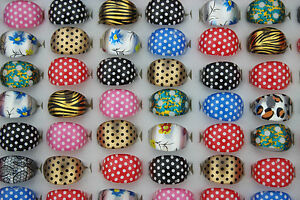 Wholesale Mixed Lots 200pcs Resin Lucite Colorful Pretty Child rings AH362
