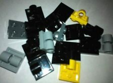 LEGO x 18 Plate, Modified with Pin Hole and Pin Holes mixed lot