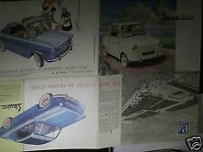 FAC SIMILE 1994/ BEAU CATALOGUE VESPA 400 1958