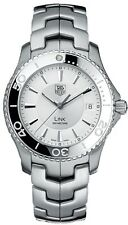 WJ1111.BA0570 Tag Heuer Link  Mens Silver Dial Stainless Steel Quartz Watch