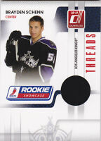 10-11 Donruss Brayden Schenn /250 Jersey Threads Rookie Showcase 2010
