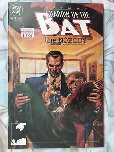 Batman Shadow of the Bat #13 DC Comics June 1993 The Nobody Alan Grant FP