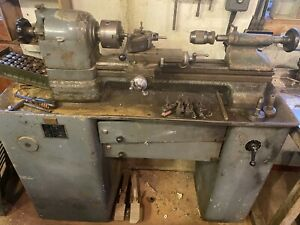 Lathe - Schaublin 102 + Collets - Good Condition All Working -