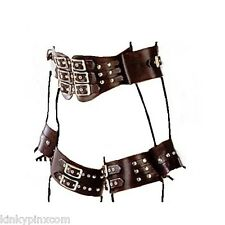 Quality Faux Leather Bondage Butterfly Restraint Kinky Fancy Sexy Dress 184