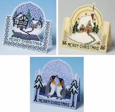3D Christmas Specials - Set Of 3 Cross Stitch Card Kits