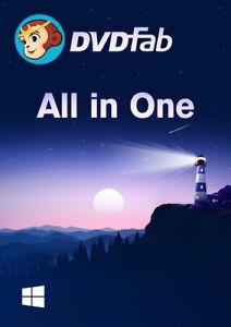 DVDFab All in One Suite V11 (1 User / lebenslange Lizenz) PC, Download, Windows