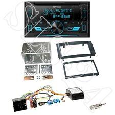 Kenwood DPX3000U Radio + VW Touareg/T5 2-DIN Radioblende black + Can-Bus Adapter