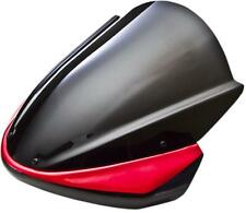Zero Gravity 41-508-231 Naked Bike Series Windscreen Tall Red 2301-1709