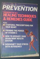 PREVENTION MAGAZINE JUN 1988 HEALING TECHNIQUES & REMEDIES GUIDE VITAMIN C POWER