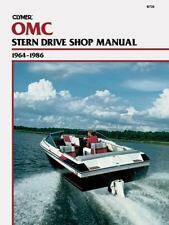 Clymer OMC Stern Drive Shop Manual 1964-1986