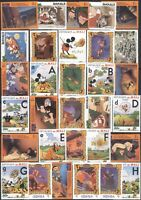 New for 2018 Disney Stamp Selection/ Superb Stocking Filler  31 values  (b1477d)