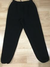 Columbia Fleece Pants Women's Size Large Black Very Thick