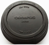 Original Olympus Rear Lens Cap For Om Mount Lenses Japan