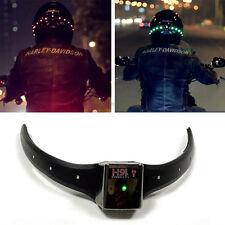 Wireless Motorcycle Helmet LED Safety Turn Signal Warning Light Indicator