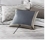 """Barbara Barry Abstraction 16"""" Square Throw Pillow Quick Silver MSRP $125"""