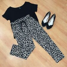 NWT W118 By Walter Baker Leopard Print Cropped /Ankle Pants XS $168