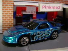 2018 HW FLAMES Design '98 PONTIAC FIREBIRD☆blue/gray;5sp☆LOOSE Hot Wheels