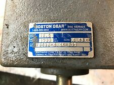 BOSTON GEAR DOUBLE REDUCTION GEAR REDUCER F862b-4.4k-B11 800 Series