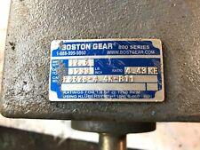 BOSTON GEAR DOUBLE REDUCTION GEAR REDUCER F862b-4.4k-B11 800 Series