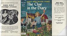 NANCY DREW #7 THE CLUE IN THE DIARY w/DJ RARE UK 1ST SAMPSON LOW 1960