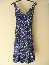 Stunning Love Label Blue, Black & White Dress - Size 10 - BNWT!!