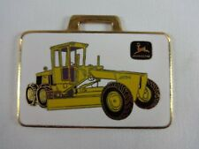John Deere Grader JD570A Richards Machinery Corp. Metal Watch Fob