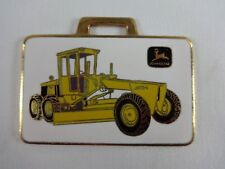 John Deere Grader Jd570A Richards Machinery Corp. Metal Watch Fob