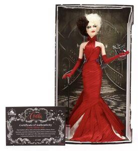 Disney Cruella 18'' 45cm Doll Live Action Limited Edition of 5400 Emma Stone