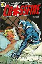 CROSSFIRE 12, June 1985 - DAVE STEVENS COVER - MARILYN MONROE - EVANIER/SPIEGLE