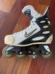 NIKE Zoom Air Hockey Rollerblades Inline Roller Skates Mens 11 Vintage Used