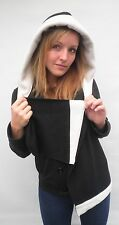 Damen Mütze Schalmütze Kapuzenschal Damenhüte Wollhüte warm Kunstfell Winter