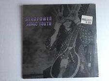 "SONIC YOUTH - STARPOWER (SEALED) USA Press Black Vinyl 12"" SST Records 080 EVOL"