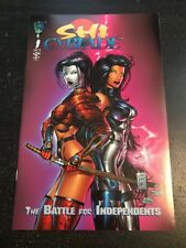 Shi/Cyblade:The Battle For Independents#1 Incredible Condition 9.2(1994)