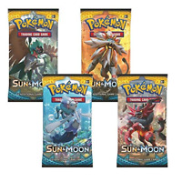 1 POKEMON SUN & MOON BOOSTER PACK | 1 BOOSTER PACK