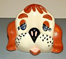 Arner Arnell Ceramic Puppy Dog Head Eyeglass Holder Vintage optometrist office