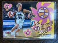 2002 Fleer Ultra WNBA RARE PROMO CARD BECKY HAMMON Summer Love NEW YORK LIBERTY