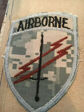 Special Forces Civil Affairs & Psychological Ops Airborne THEATRE MADE ACU CE