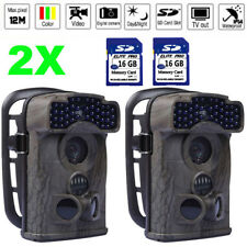 2X 12MP Little Acorn Ltl-5310WA Wide Angle Game Trail Hunting Farm Camera + 16GB