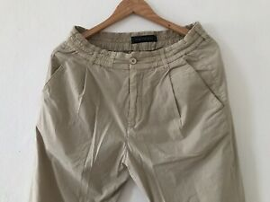 DRYKORN CHASY CHINO PANTS CROPPED W33 L32