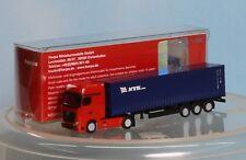 Herpa 066471, Spur N, MB Actros Gigaspace Container Sattelzug NYK