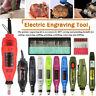 Electric Engraving Pen Engraver Wood Carving Polishing Tools Set DIY