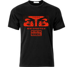 George Orwell 1984 Was Not Supposed To Be An Instruction Manual T Shirt Black