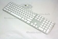 Apple Wired Keyboard - Refurbished - Excellent Condition - USB 2.0 Mac Genuine